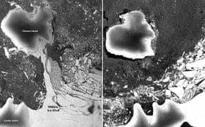Environment decade: Wilkins Ice Shelf