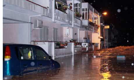 Sicily mudslide