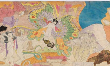 Henry Darger, Untitled (detail) c.1940-1960
