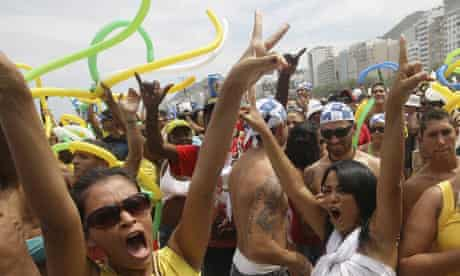 Scenes of jubilation in Rio de Janeiro after it was named the host city of the 2016 Olympics