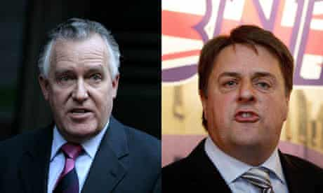 Peter Hain Nick Griffin