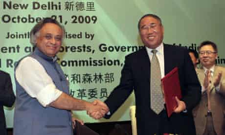 Xie Zhenhua, Jairam Ramesh China and India agreement on climate change