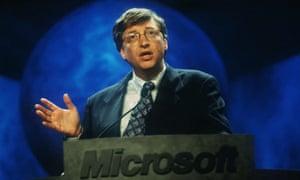 Bill Gates Speaks At UNIX Convention