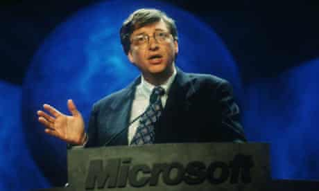 Bill Gates Speaks At UNIX Convention