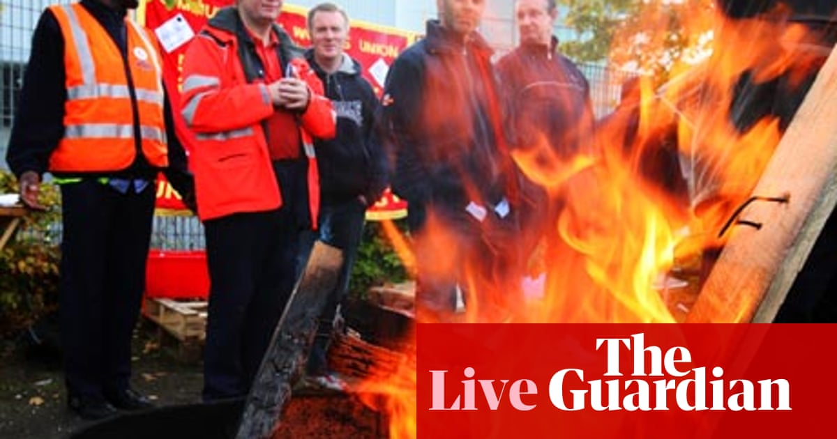 Postal Strike Day Two As It Happened Business The Guardian