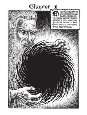 R Crumb's Genesis: Chapter one of The Book Of Genesis illustrated By R Crumb