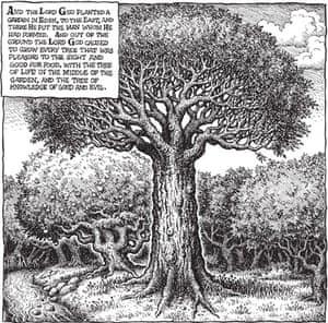 R Crumb's Genesis: Genesis tree