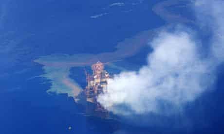Montara Oil rig leak fuel into the Timor Sea