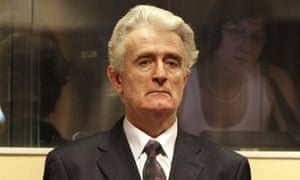 Radovan Karadzic faces the International Criminal Tribunal