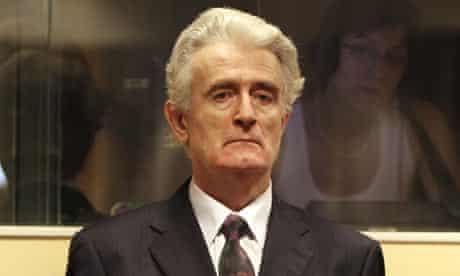 Radovan Karadzic faces the International Criminal Tribunal