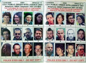 Police spotter card