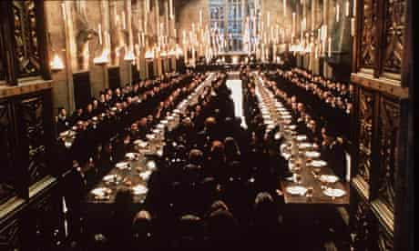 Harry Potter dining hall