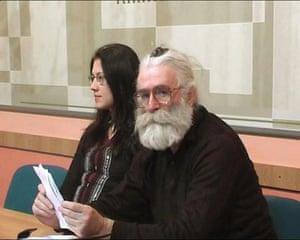 Radovan Karadzic: Radovan Karadzic posing as Dr Dragan David Dabic