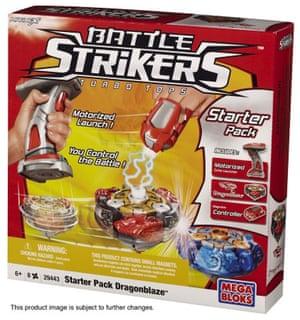 top 12 toys for xmas: Battle strikers starter set