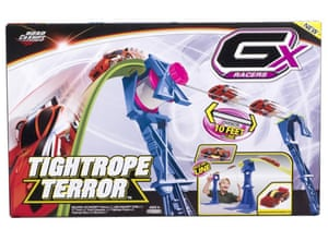 top 12 toys for xmas: GX racers, tightrope terror