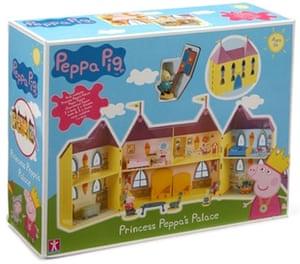 top 12 toys for xmas: Princess Peppa's Palace