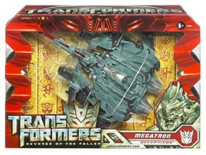 top 12 toys for xmas: Transfomers 2: Voyager figures