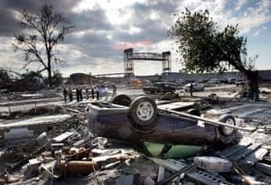 Environment decade: New Orlean's Lower 9th Ward after Hurricane Katrina