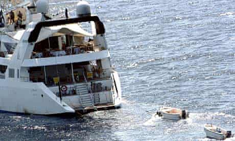 Le Ponant was seized off the coast of Somalia