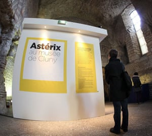 Asterix: Asterix Exhibition at the Cluny Museum in Paris