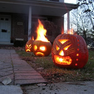 Pumpkin carving: Pumpkin carving