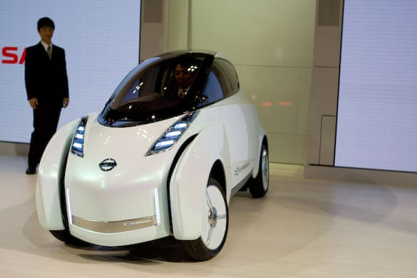 In Pictures Tokyo Motor Show 2009 Environment The Guardian