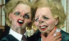 Margaret Thatcher's Spitting Image Puppet