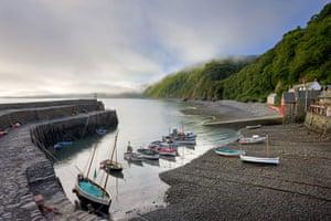 10 best harbours: 10 best harbours clovelly