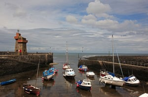 10 best harbours: 10 best harbours  Lynmouth,