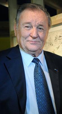Asterix co-creator Albert Uderzo