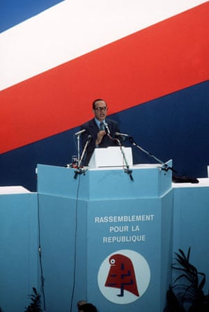 Jacques Chirac: 1976: Jacques Chirac makes a speech in Paris