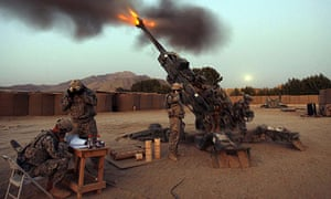 US soldiers in Logar province, Afghanistan