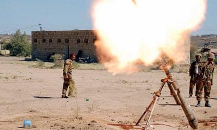 Yemeni army launch an attack Shiite Houthi rebels