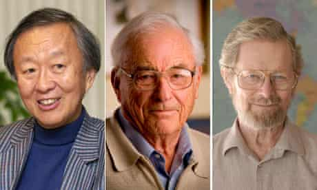 Charles Kao, Willard Boyle and George Smith winners of the 2009 Physics Nobel Prize winners