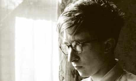 John Updike in the 1950s