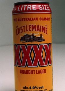 beer castlemaine xxxx