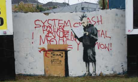 Sutton residents are voting on whether a Banksy mural should stay