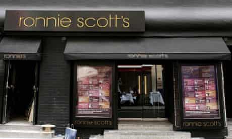 Ronnie Scott's jazz club