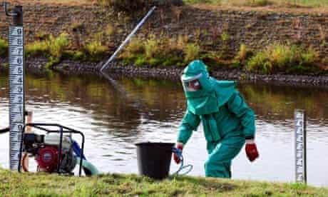 River Trent contamination
