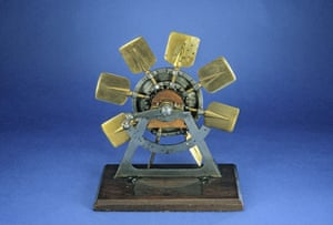 Obama white house art: Patent model for feathering paddle-wheel for steamboats by Henry Williams