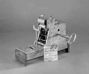 Obama white house art: Patent Model, Electric Telegraph  Samuel F.B. Morse