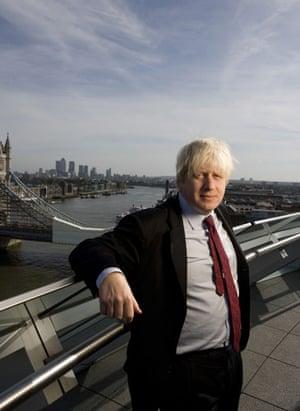 Top Ten Tories: London Mayor Boris Johnson at City Hall