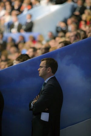 Top Ten Tories: Andy Coulson at the Conservative Party conference 2009 in Manchester
