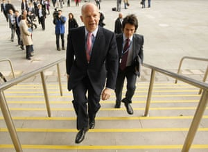 Top Ten Tories: Foreign Secretary William Hague at the Conservative party conference