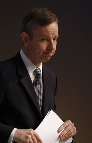Top Ten Tories: Shadow Secretary of State for Children Michael Gove at conference