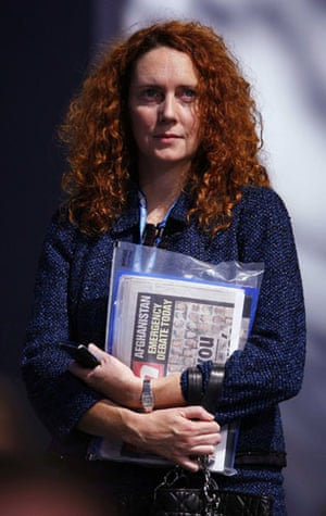 Top Ten Tories: Chief Executive of News International Rebekah Brooks