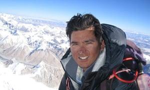 WWF climate witness in Nepal Dawa Steven Sherpa