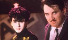 Marc Almond with Dave Ball of Soft Cell in 1982
