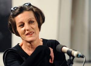 Herta Muller: Author Herta Mueller prior to a reading of her new novel 'Atemschaukel'