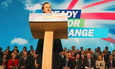 David Cameron Tory conference 2009
